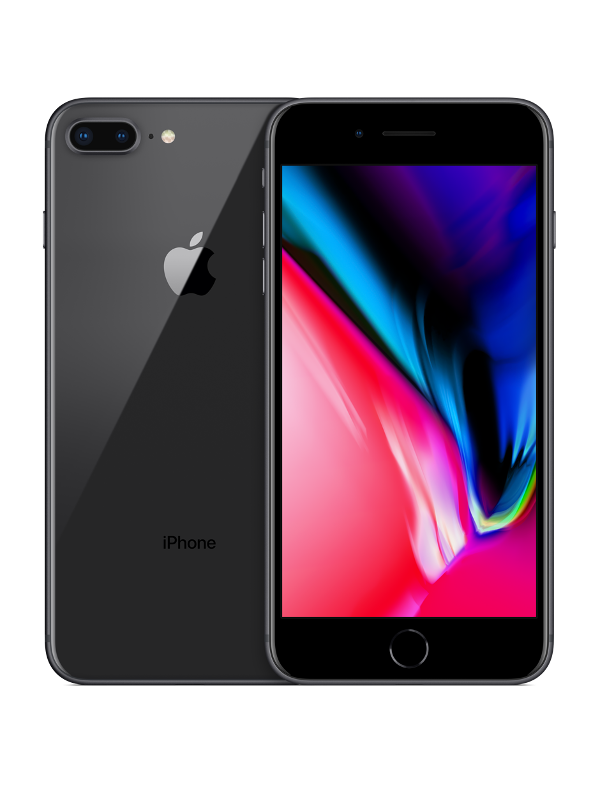 iPhone 8 Plus Black RK Teh